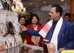 Exhibition on Traditional Jewellery of Assam visited by Hon'ble Minister of Industries & Commerce,Assam