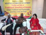 Exhibition on Traditional Jewellery of Assam visited by Oil Magnate from Nigeria